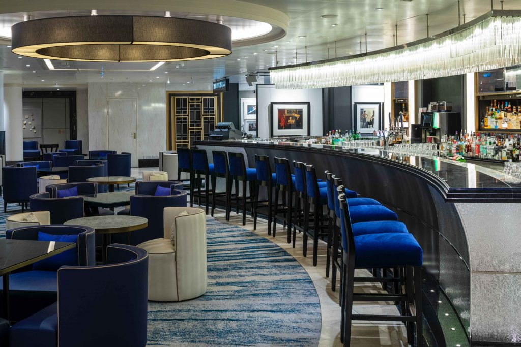 P&O Cruises Britannia Refurbishment