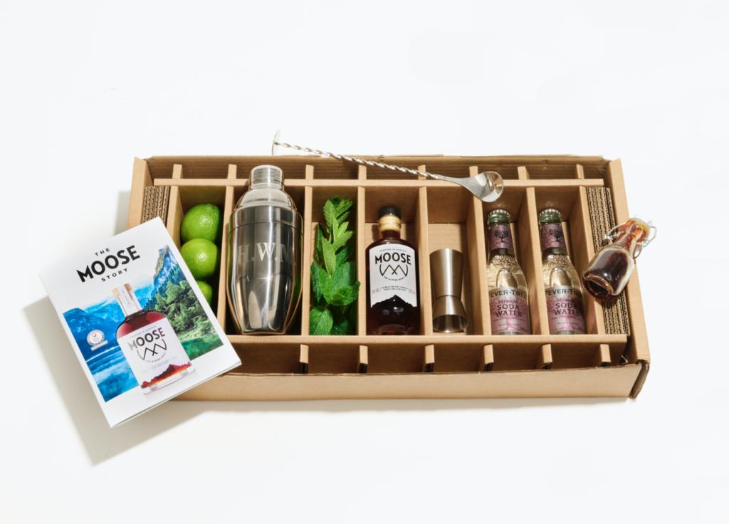 Moose Cocktail set