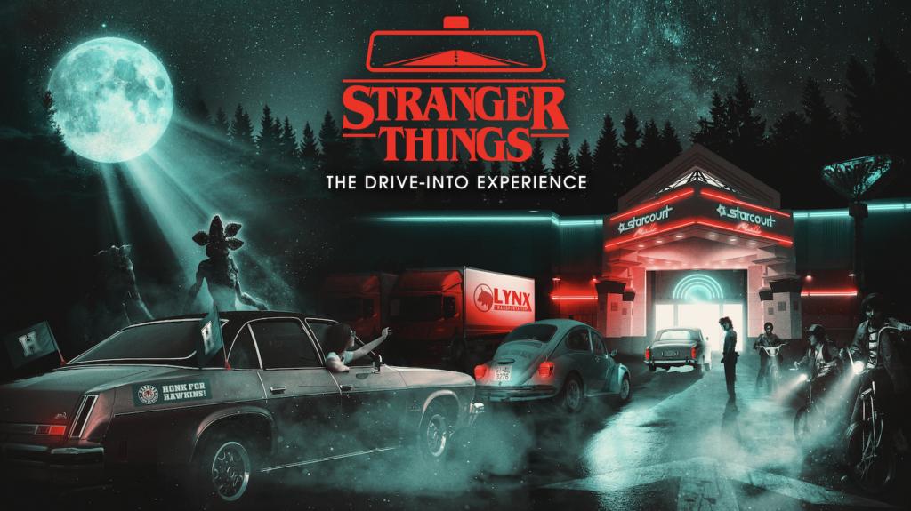 stranger things drive in