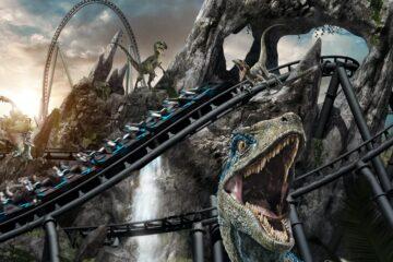 New jurassic world rollercoaster orlando