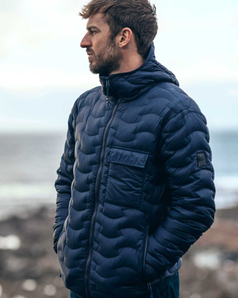 Henri Lloyd quilted jacket