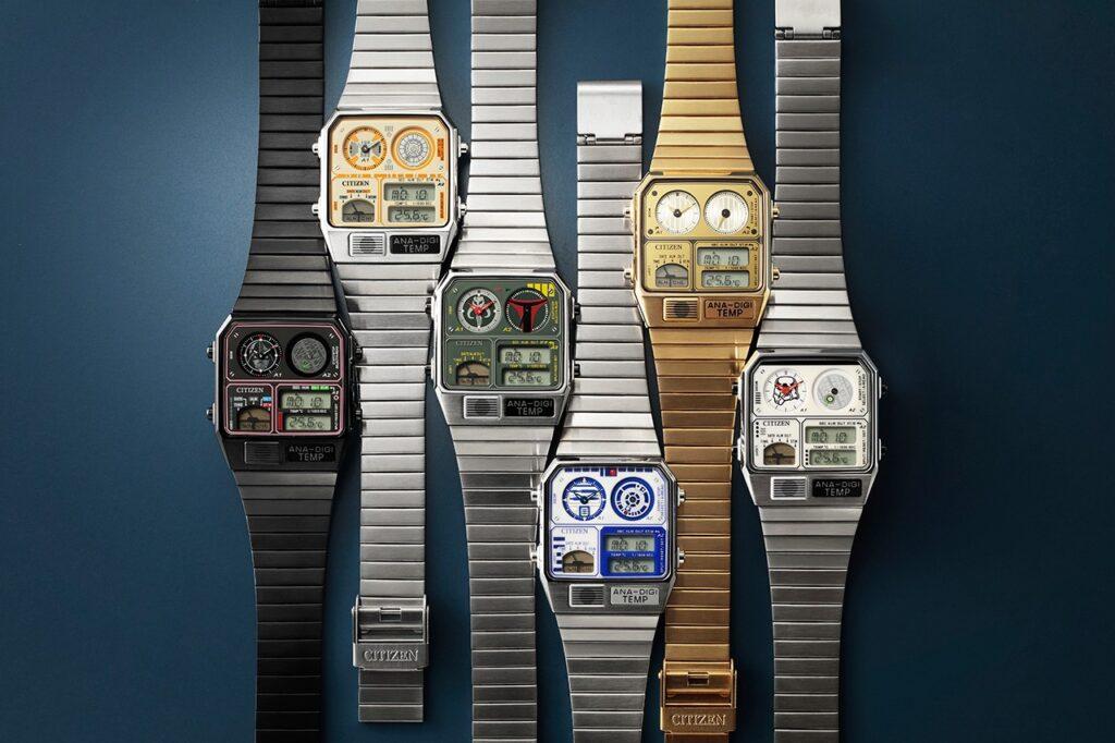 Citizen Sraw Wars Watch Collection