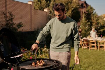 entertaining in your garden