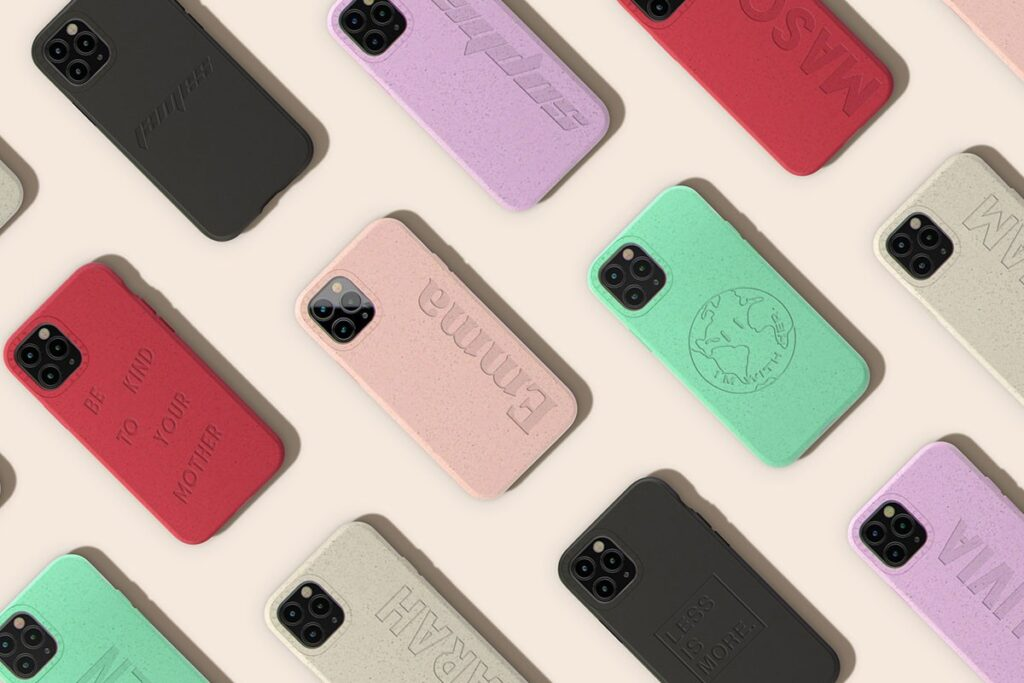 Casetify bamboo iphone case
